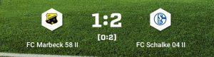 Read more about the article Damen II – 3 Tore geschossen, 1:2 verloren