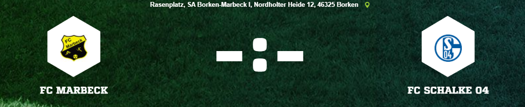 You are currently viewing Schalke gastiert in Marbeck!
