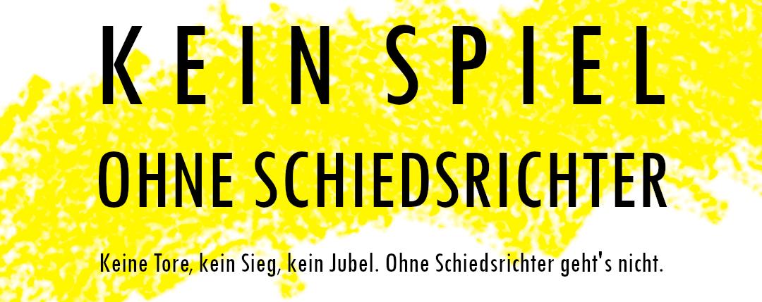 Read more about the article Kein Spiel ohne Schiedsrichter – werde auch du Teil unseres Teams!